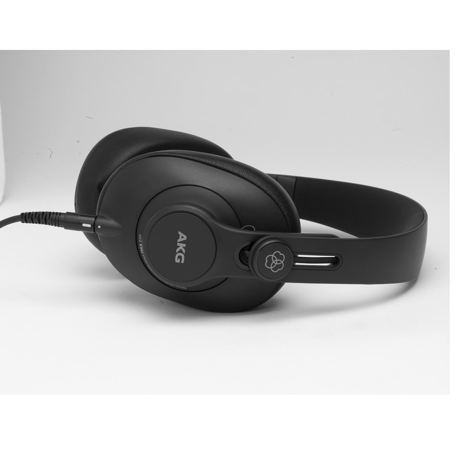 K361 - Black - Over-ear, closed-back, foldable studio headphones - Left