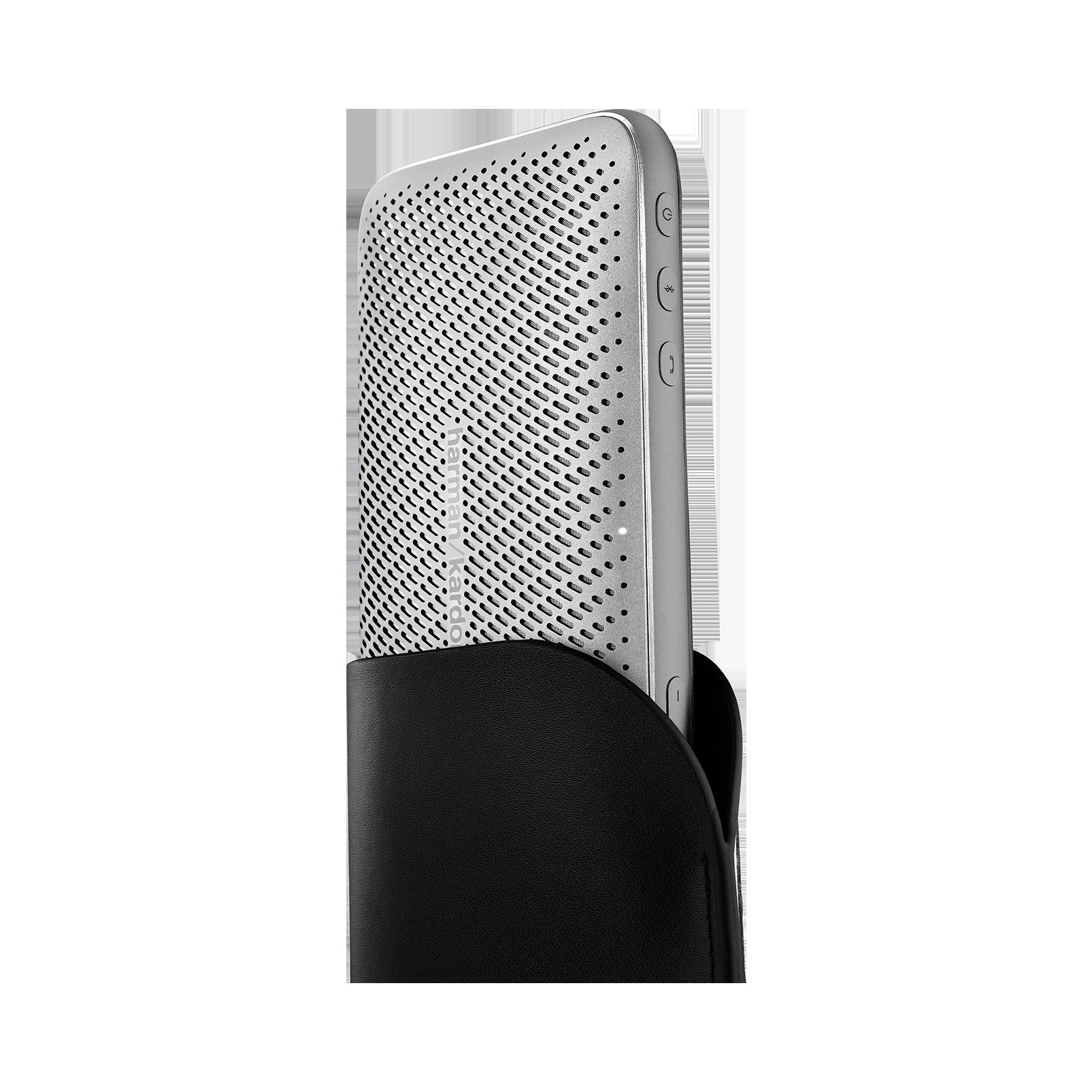 Harman Kardon Esquire Mini 2 - Silver - Ultra-slim and portable premium Bluetooth Speaker - Detailshot 1