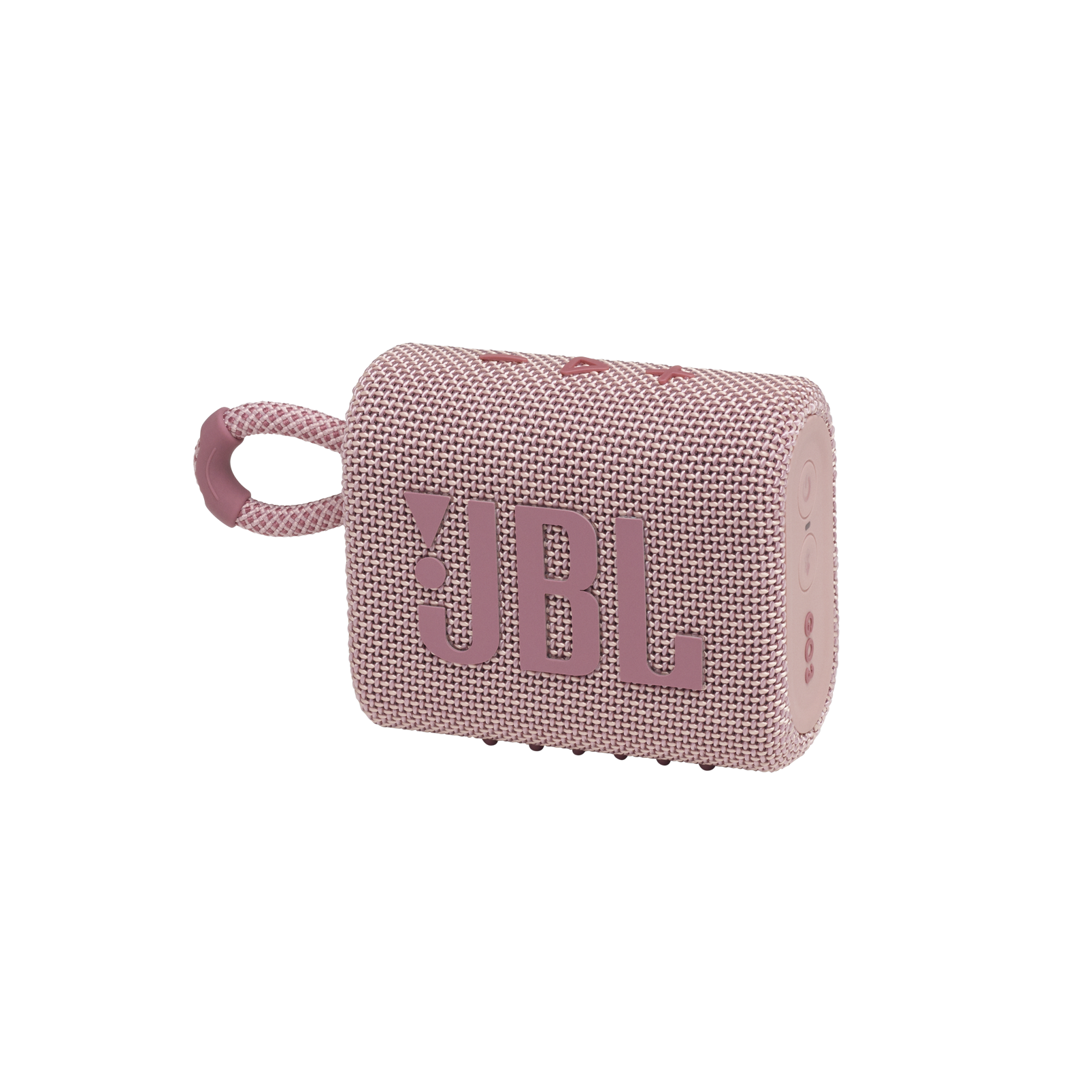 JBL GO 3 - Pink - Portable Waterproof Speaker - Hero
