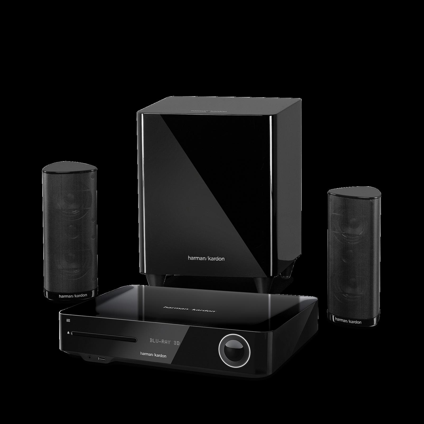 bds 385s receiver mit 2 1 kanal surround sound 330 watt. Black Bedroom Furniture Sets. Home Design Ideas