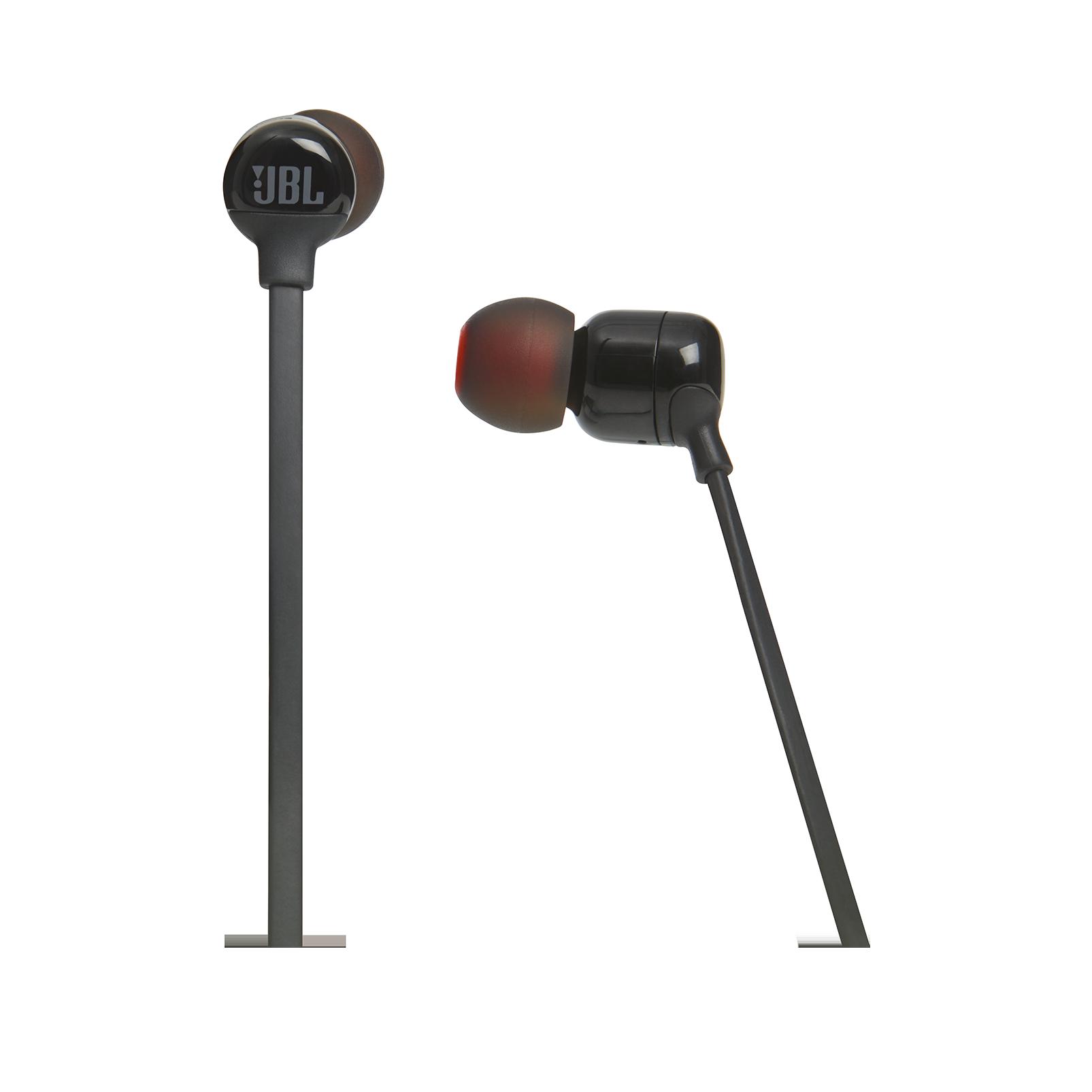 JBL TUNE 160BT - Black - Wireless in-ear headphones - Detailshot 3