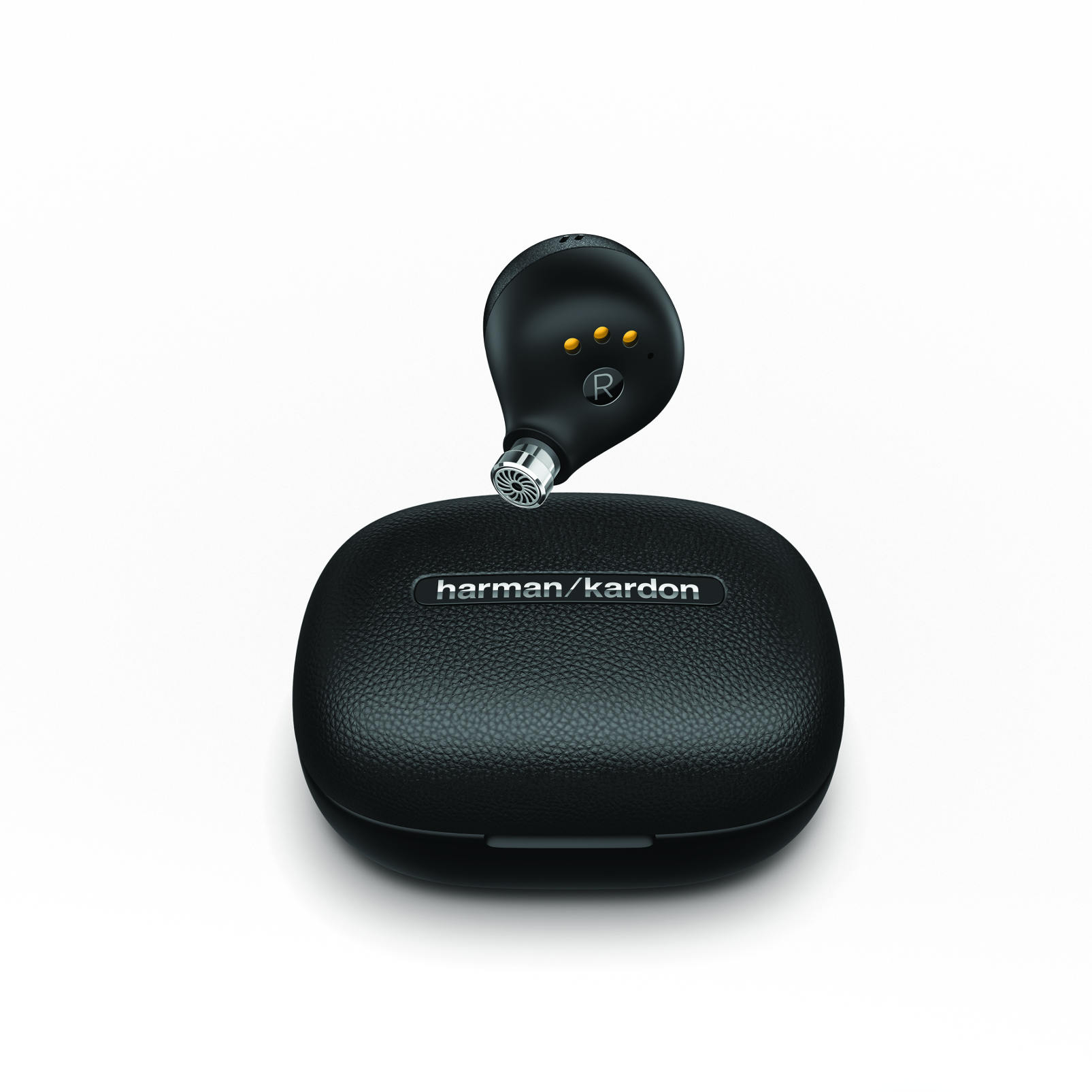 Harman Kardon FLY TWS - Black - True Wireless in-ear headphones - Back