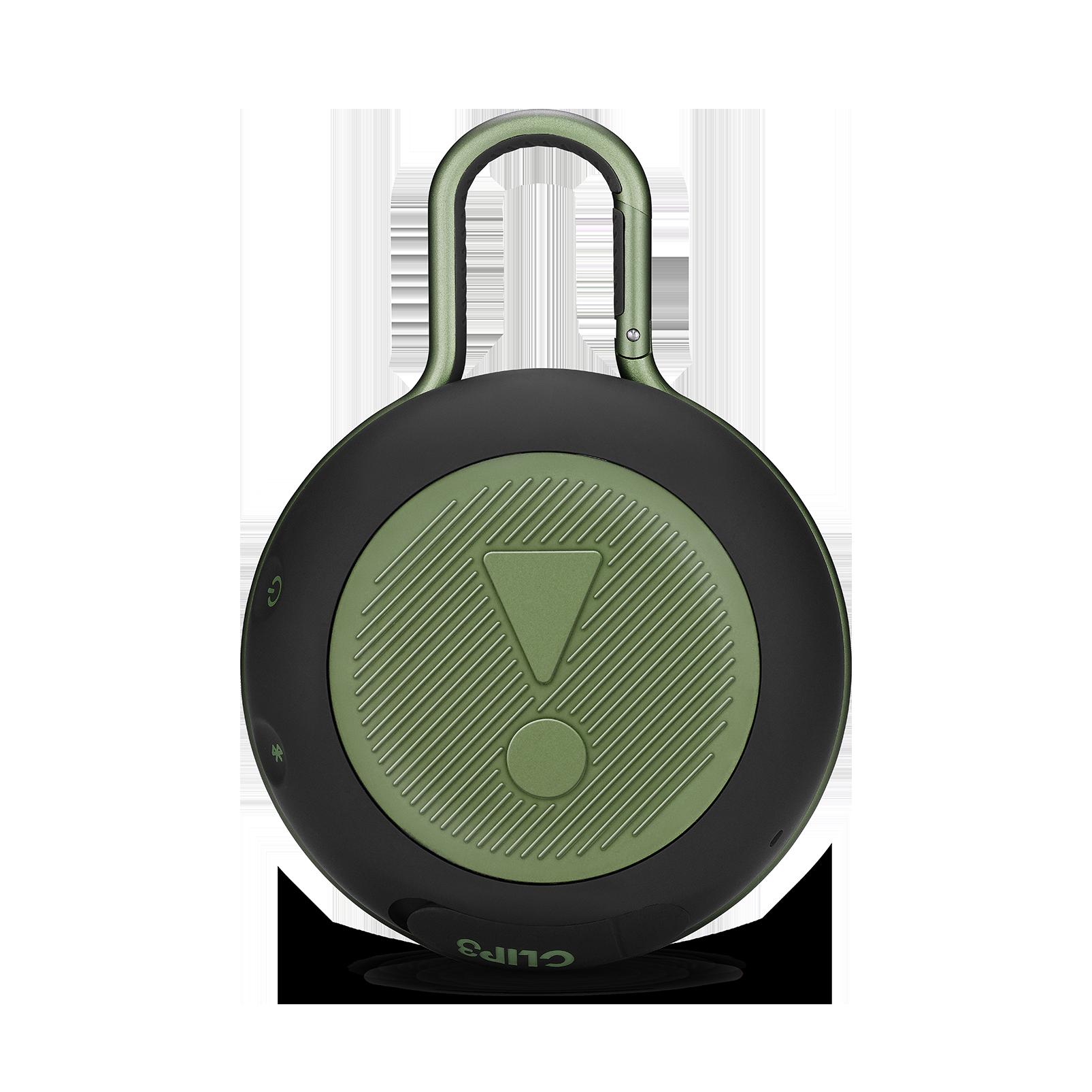 JBL CLIP 3 - Squad - Portable Bluetooth® speaker - Back