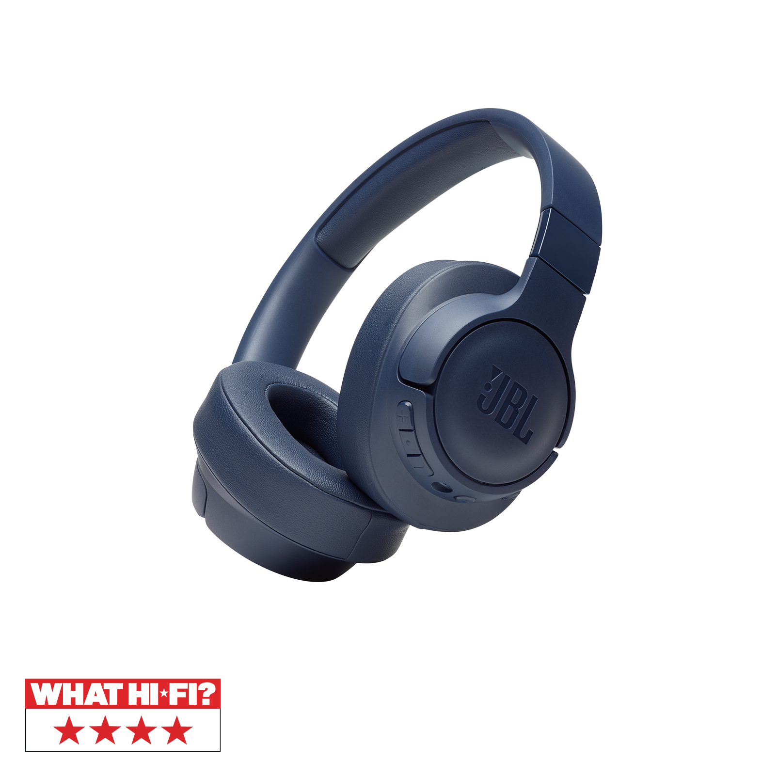 JBL TUNE 750BTNC - Blue - Wireless Over-Ear ANC Headphones - Hero