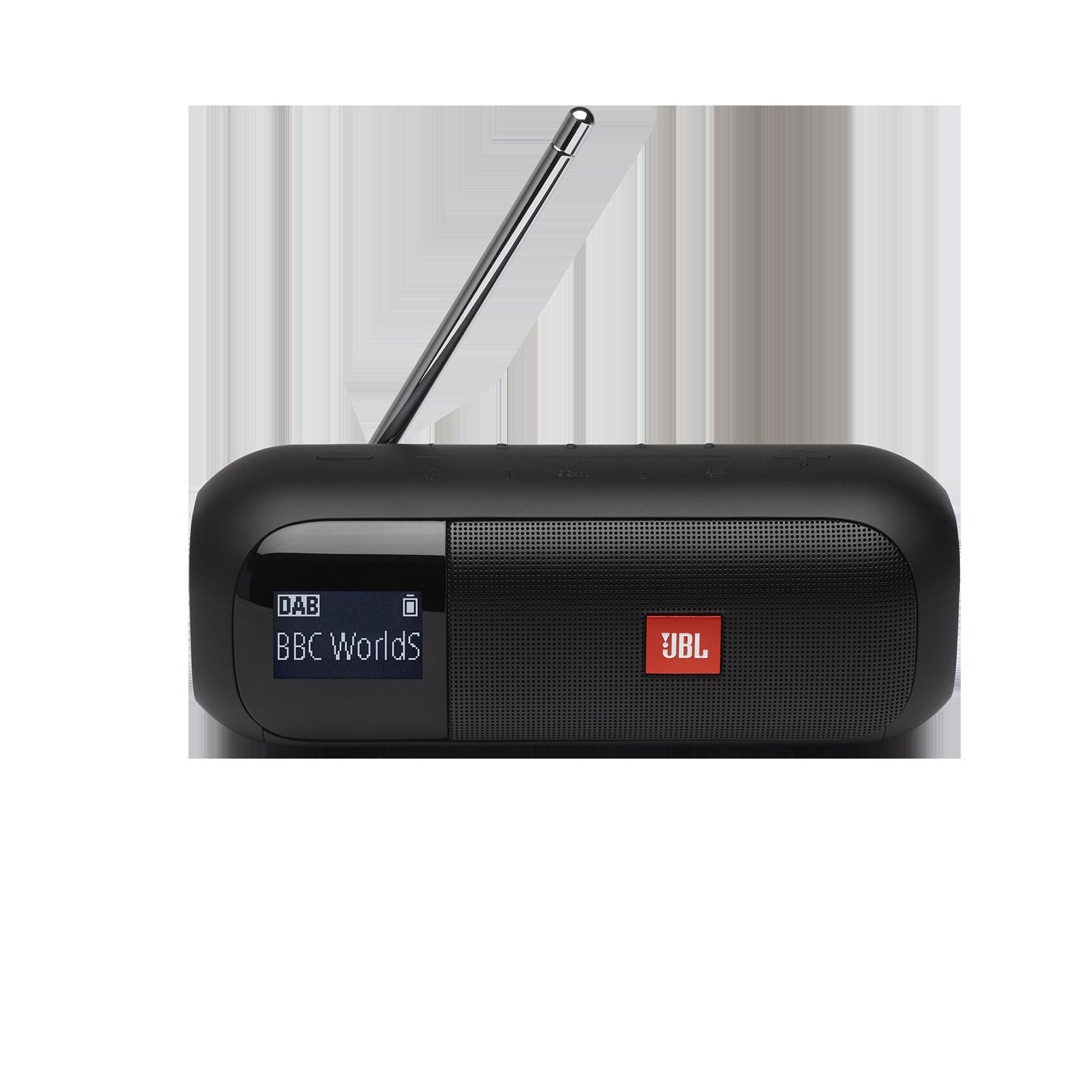 JBL Tuner 2 - Black - Portable DAB/DAB+/FM radio with Bluetooth - Front