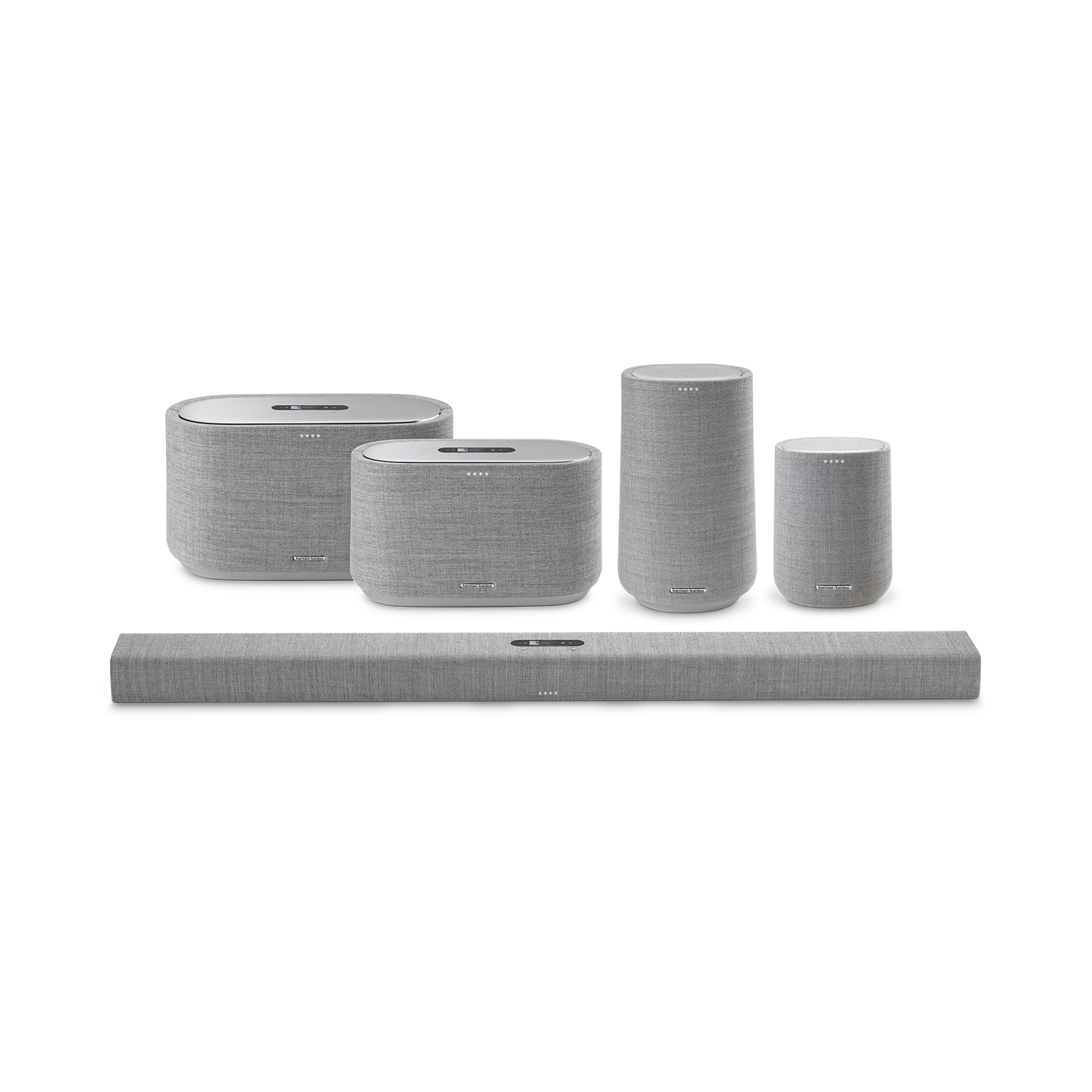 Harman Kardon Citation 100 MKII - Grey - Bring rich wireless sound to any space with the smart and compact Harman Kardon Citation 100 mkII. Its innovative features include AirPlay, Chromecast built-in and the Google Assistant. - Detailshot 5