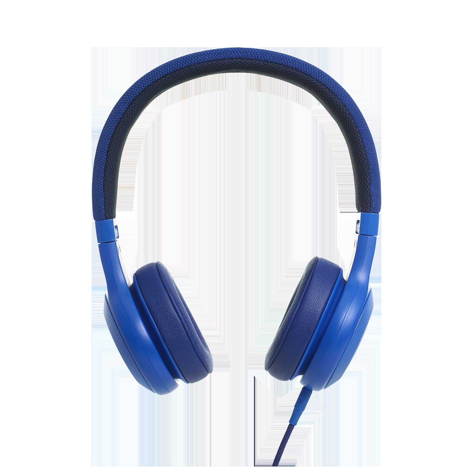E35 - Blue - On-ear headphones - Detailshot 2