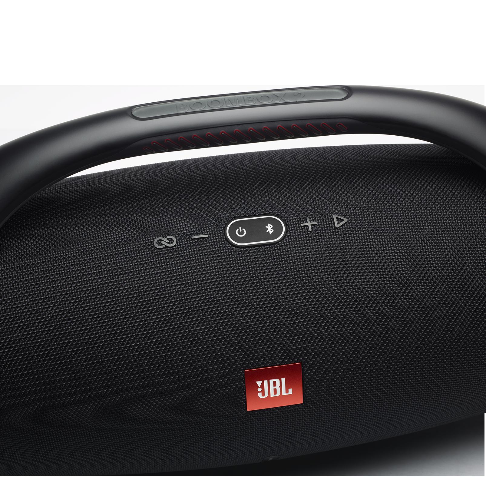 JBL Boombox 2 - Black - Portable Bluetooth Speaker - Detailshot 1