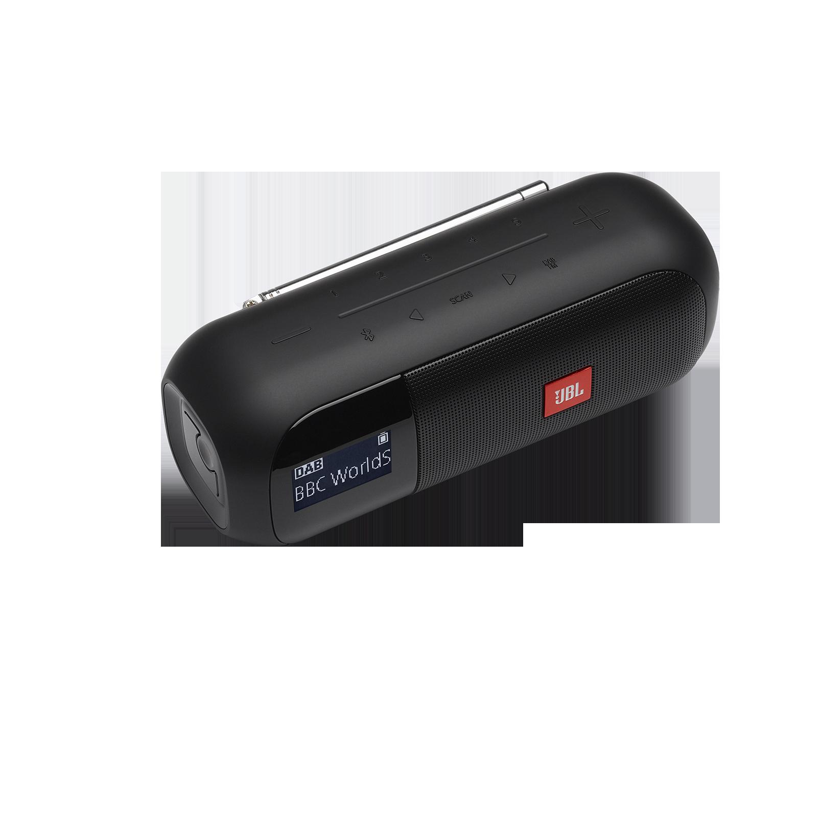 JBL Tuner 2 - Black - Portable DAB/DAB+/FM radio with Bluetooth - Detailshot 2