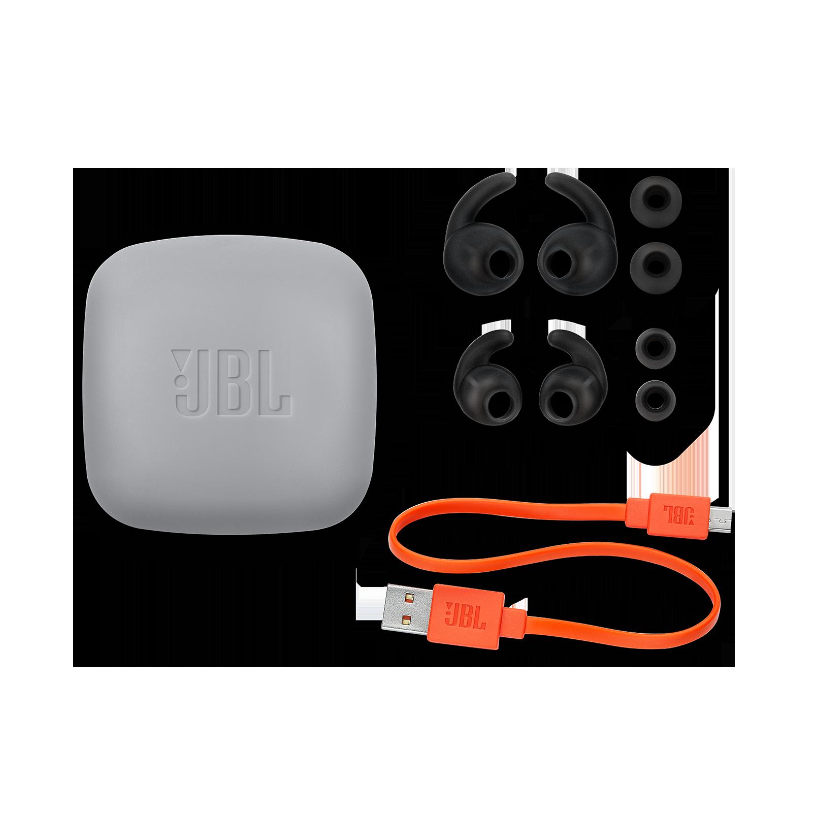 JBL REFLECT MINI 2 - Black - Lightweight Wireless Sport Headphones - Detailshot 5