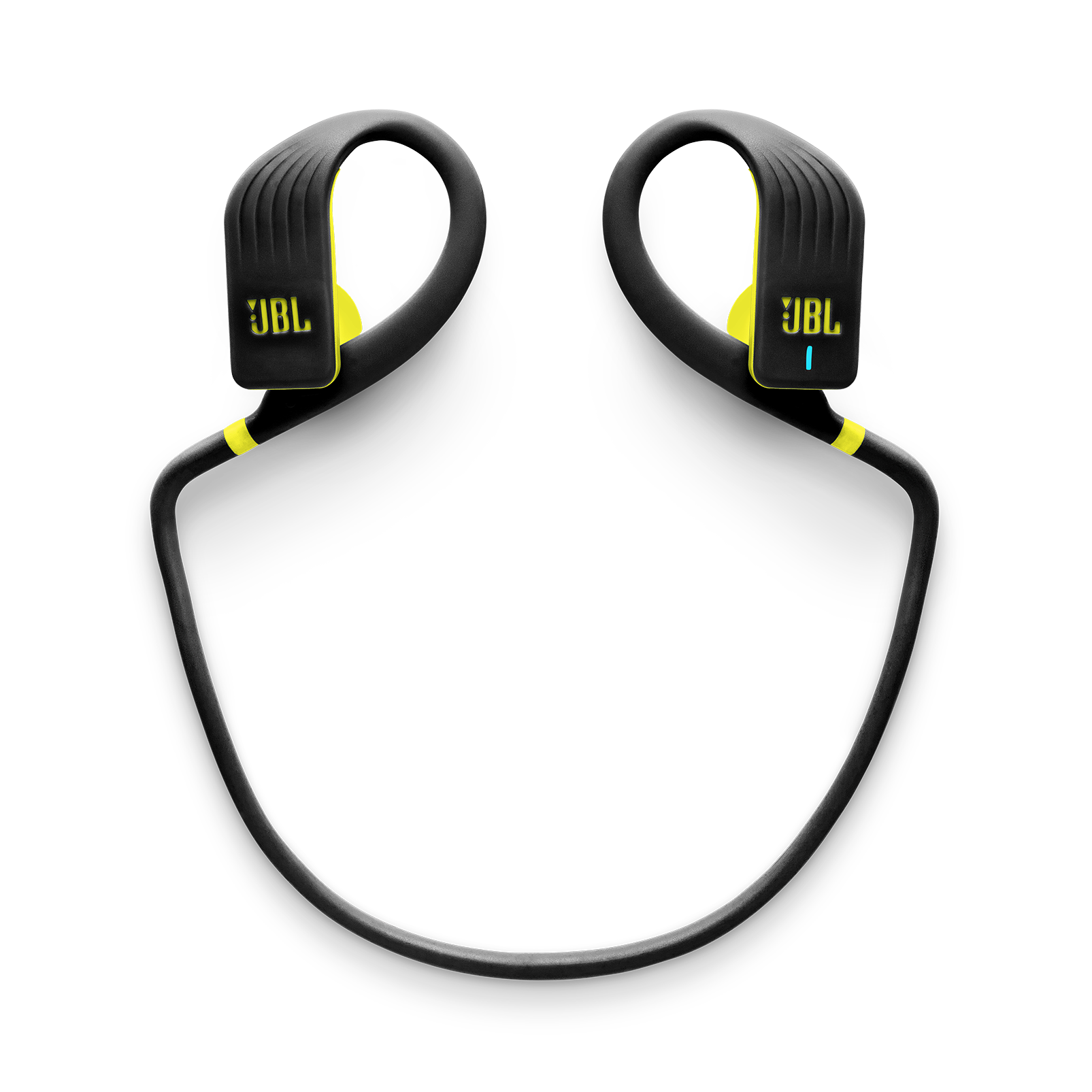 JBL Endurance JUMP - Yellow - Waterproof Wireless Sport In-Ear Headphones - Detailshot 2