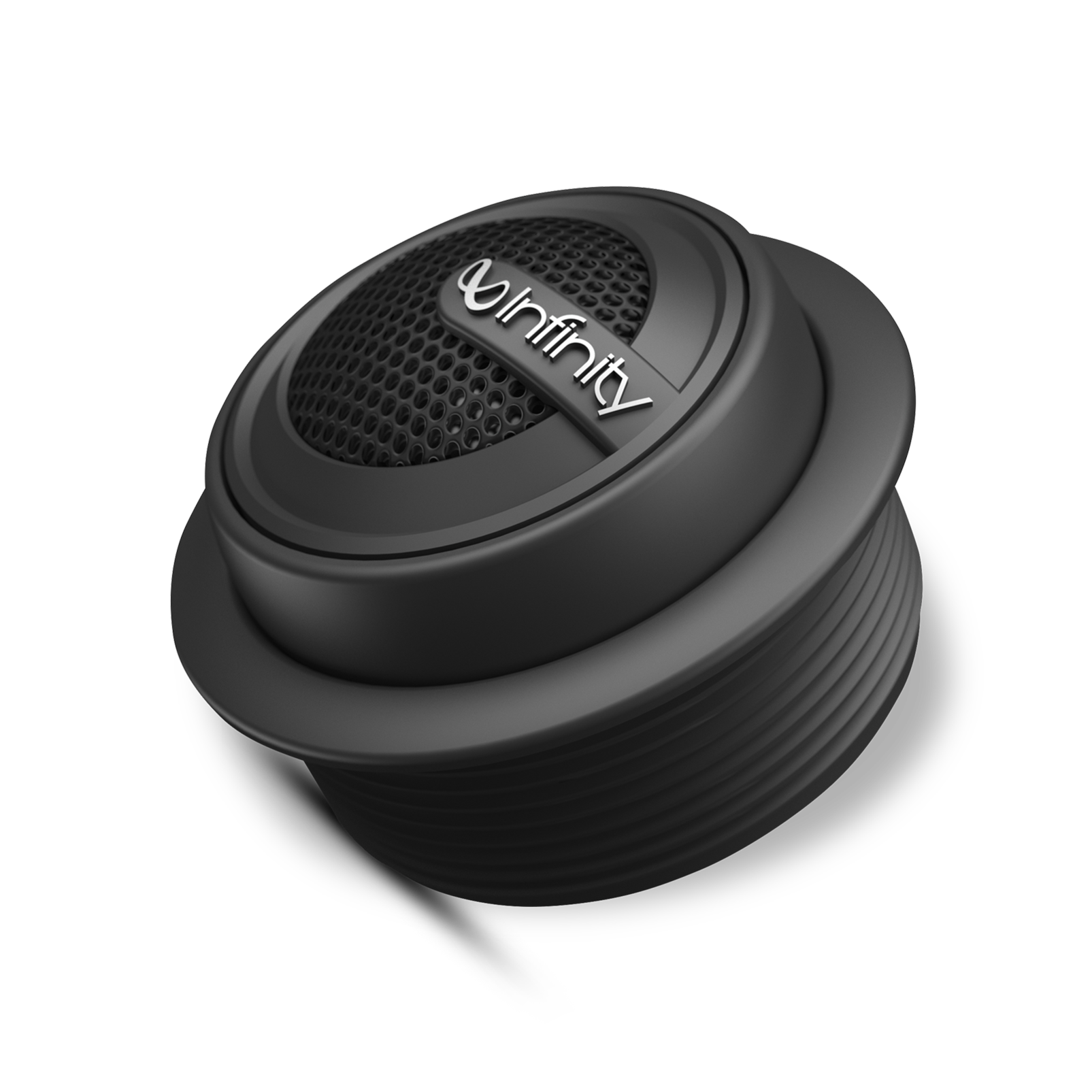 "Reference 075tx - Black - 3/4"" (19mm) stand-alone component tweeter with passive crossover network - Hero"