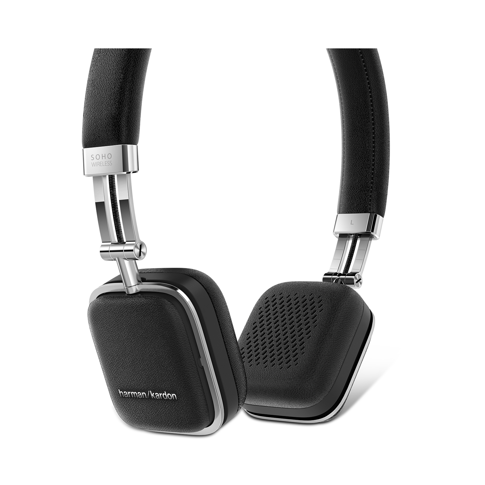 Soho Wireless - Black - Premium, on-ear headset with simplified Bluetooth® connectivity. - Detailshot 1
