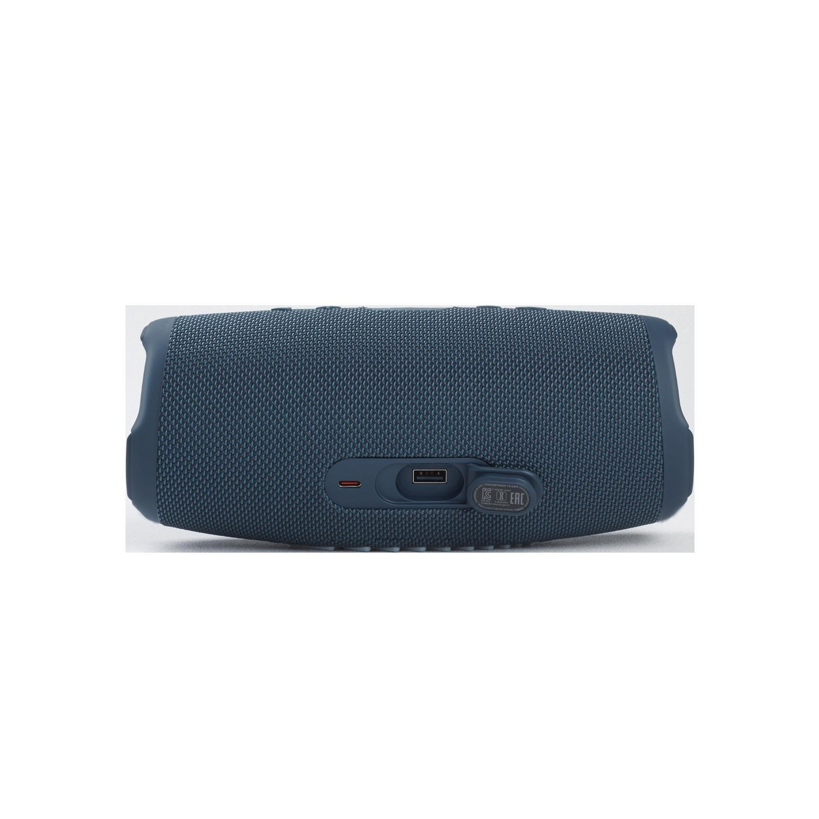JBL Charge 5 - Blue - Portable Waterproof Speaker with Powerbank - Detailshot 1