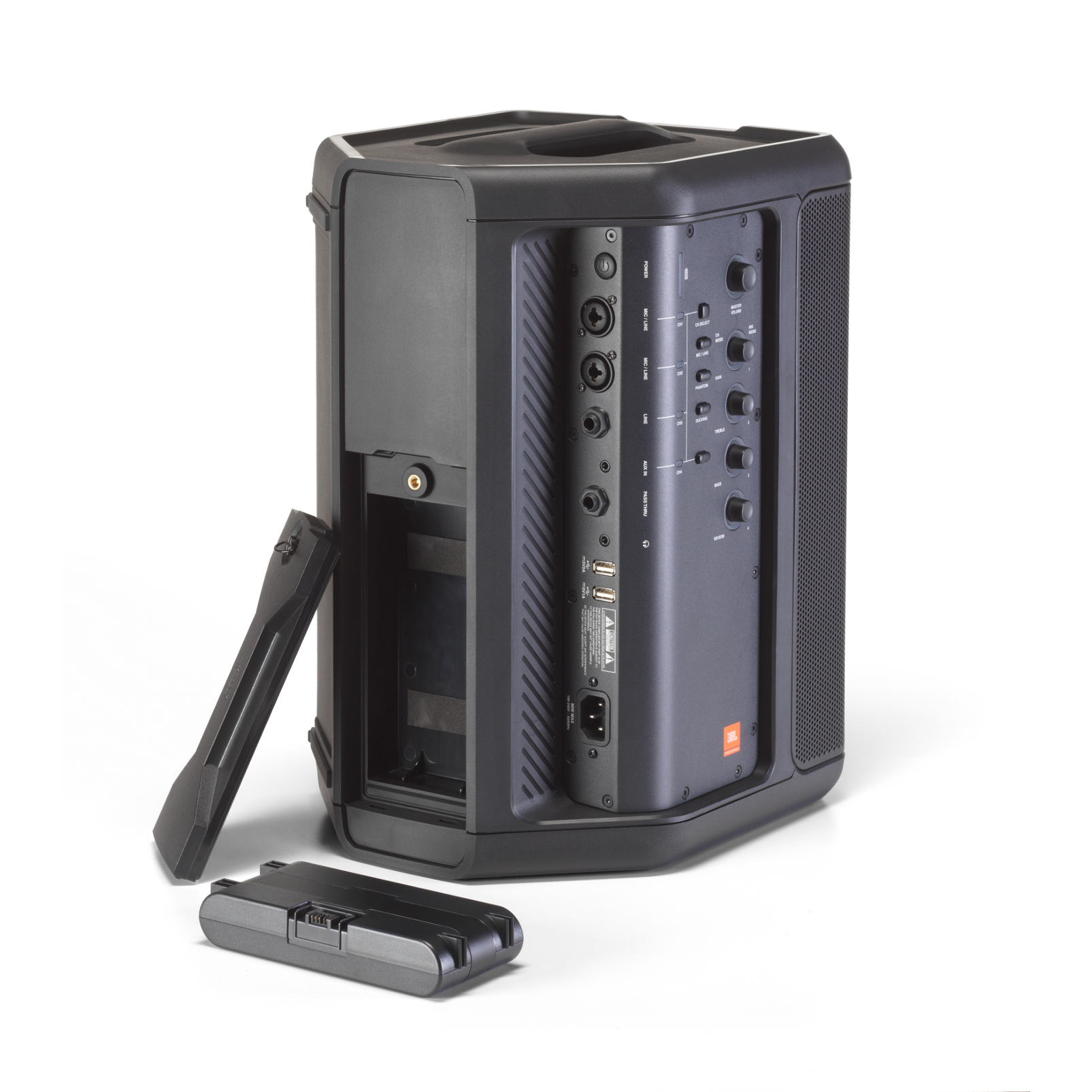 JBL EON ONE Compact - Black - All-in-One Rechargeable Personal PA  - Detailshot 7