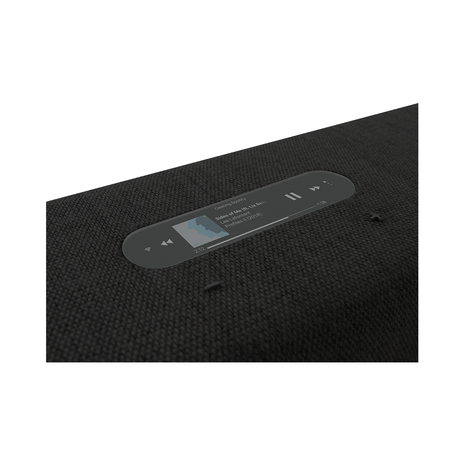 Harman Kardon Citation Bar - Black - The smartest soundbar for movies and music - Detailshot 1