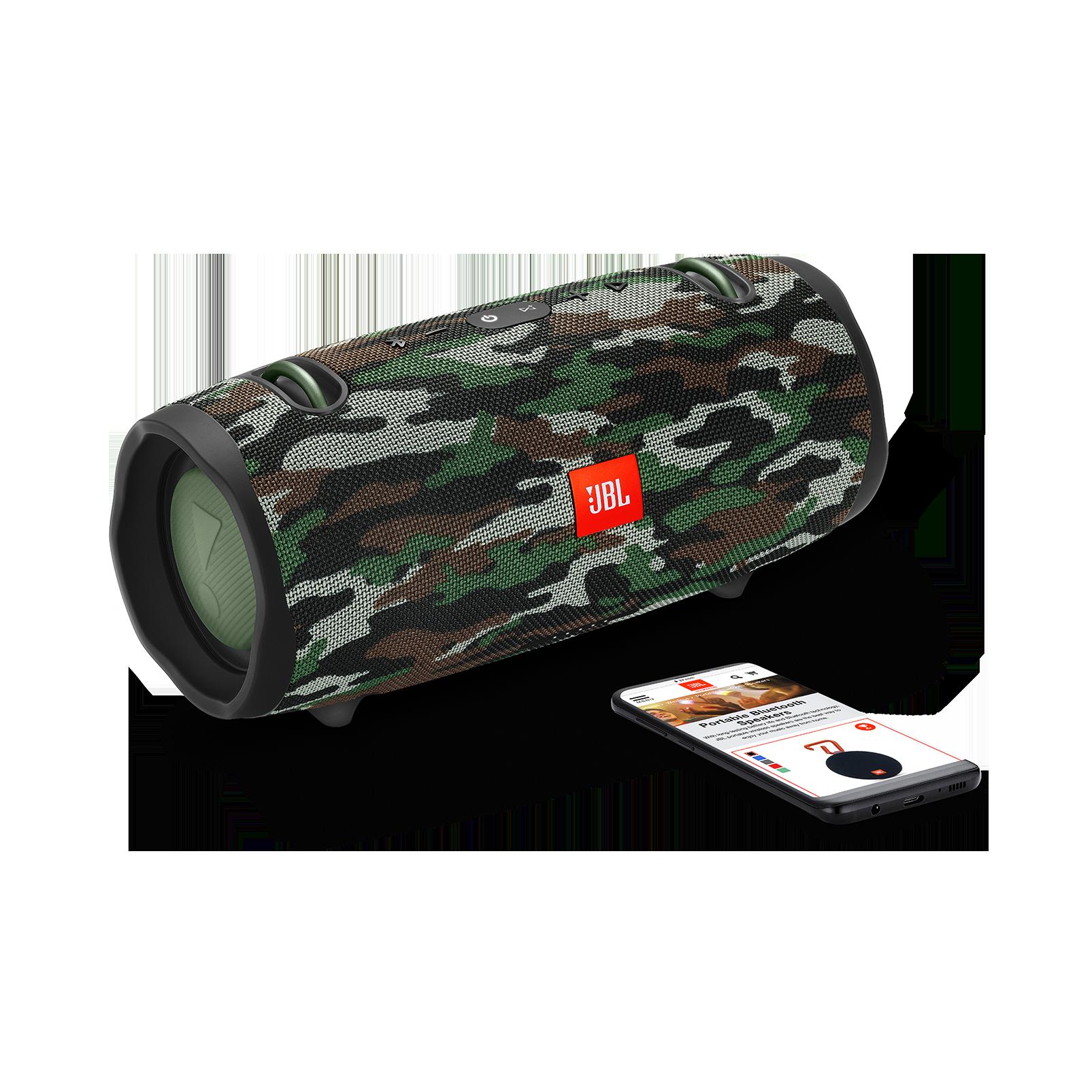 JBL Xtreme 2 - Squad - Portable Bluetooth Speaker - Detailshot 1